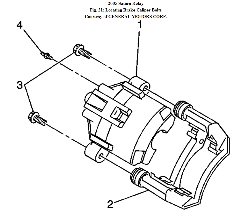 Service manual [2005 Saturn Relay Rear Drum Brake Removal