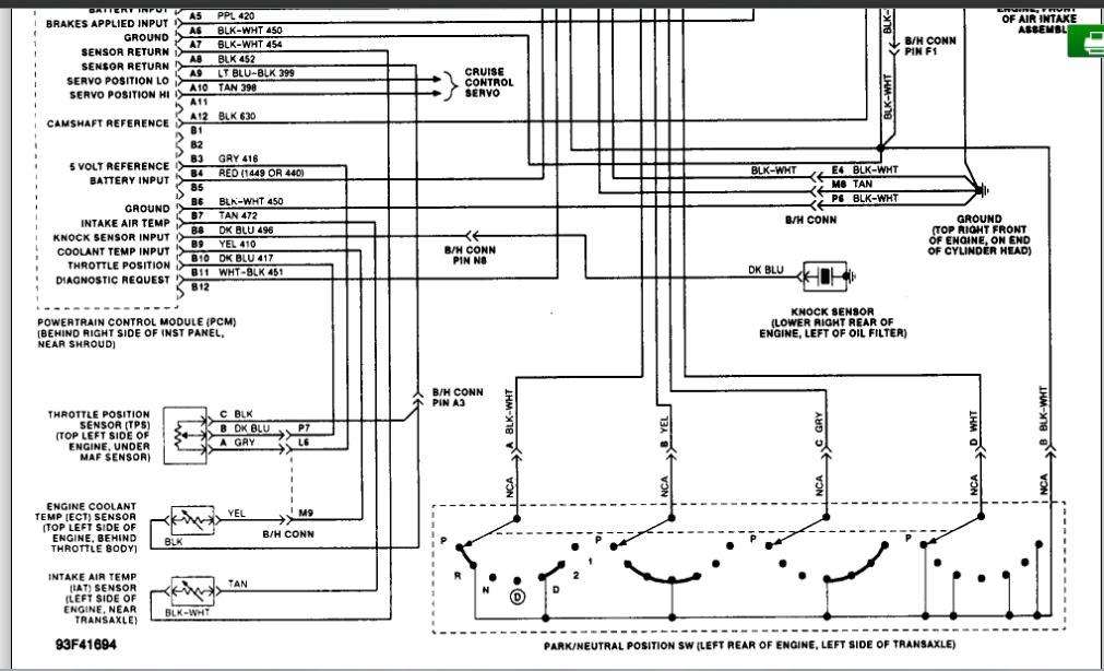 Error Code 41 Check Cam Sensor Circuit: When Checking Cam