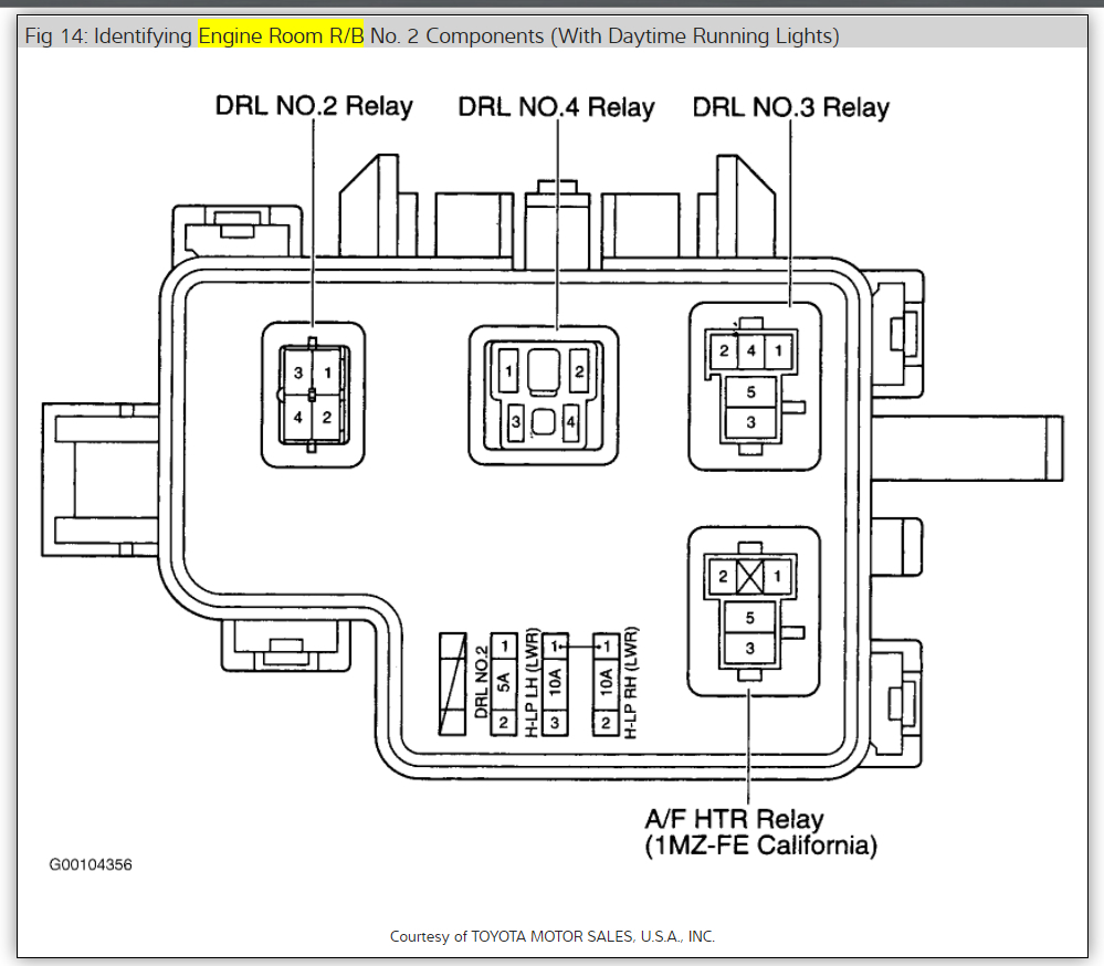 Location Fuel Pump Relay: Looking for Location of Fuel