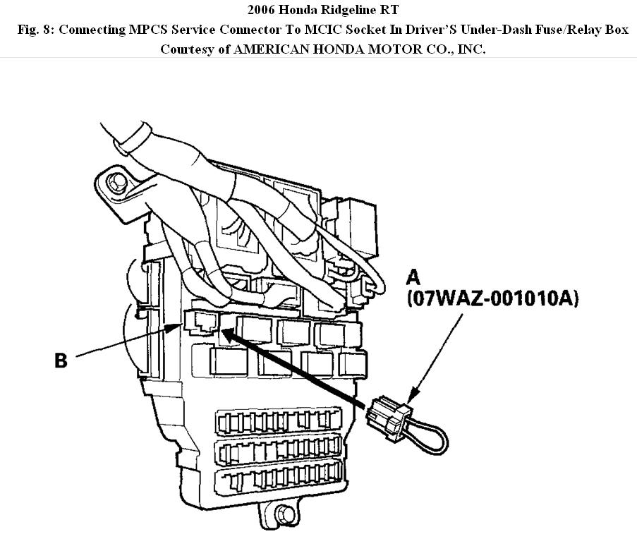2006 Ridgeline Fuse Box : 23 Wiring Diagram Images
