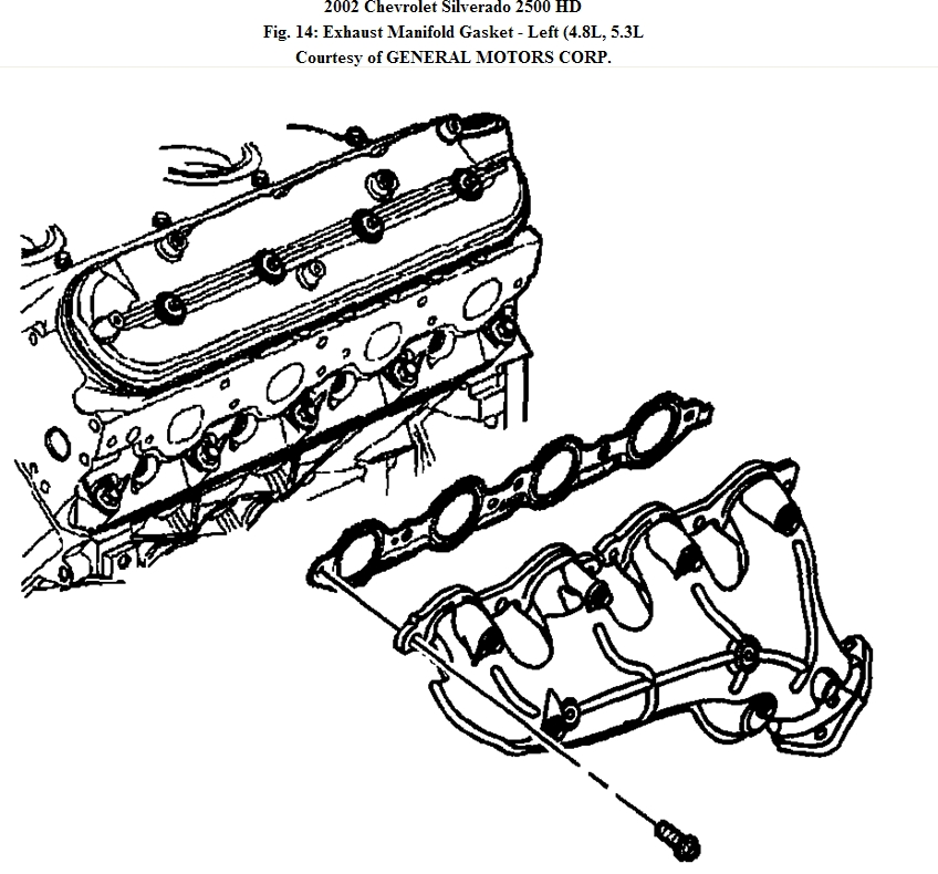 2002 Chevy Silverado Exhaust Diagram 2006 Chevy Silverado