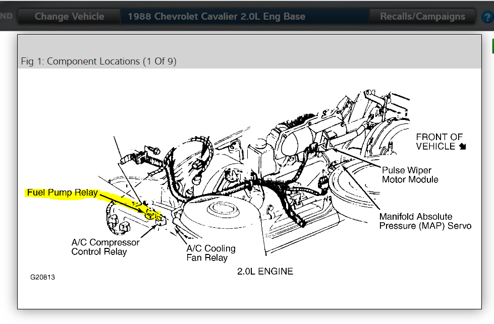 Fuel Pump Fuse Location: Hi, I Have the Car Listed Above