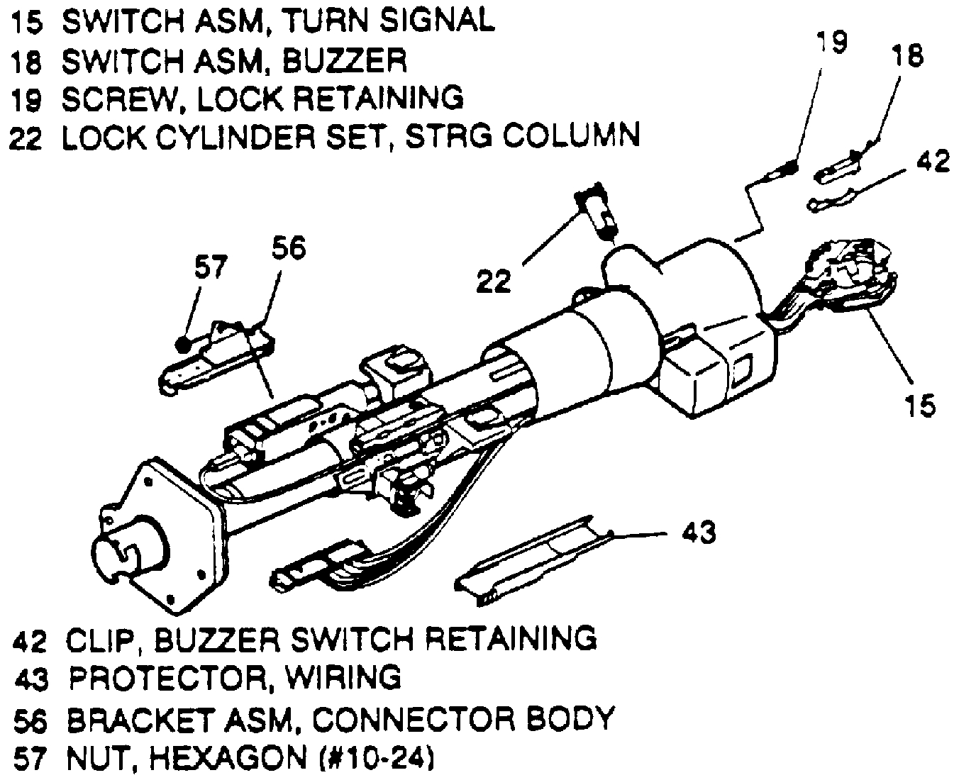 Lowering the Steering Column: I Have a 1994 GMC Safari. I