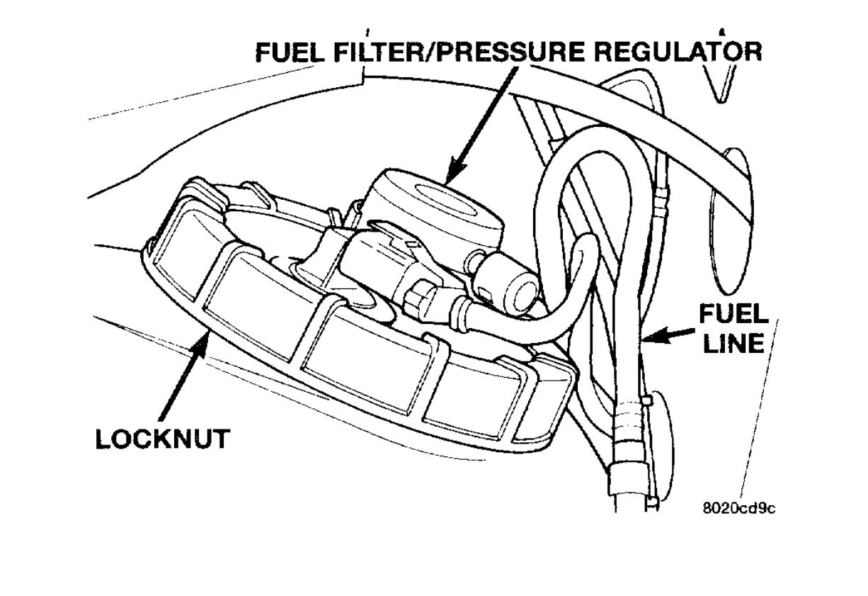 Where Is the Fuel Filter on a 2001 Dodge Neon?