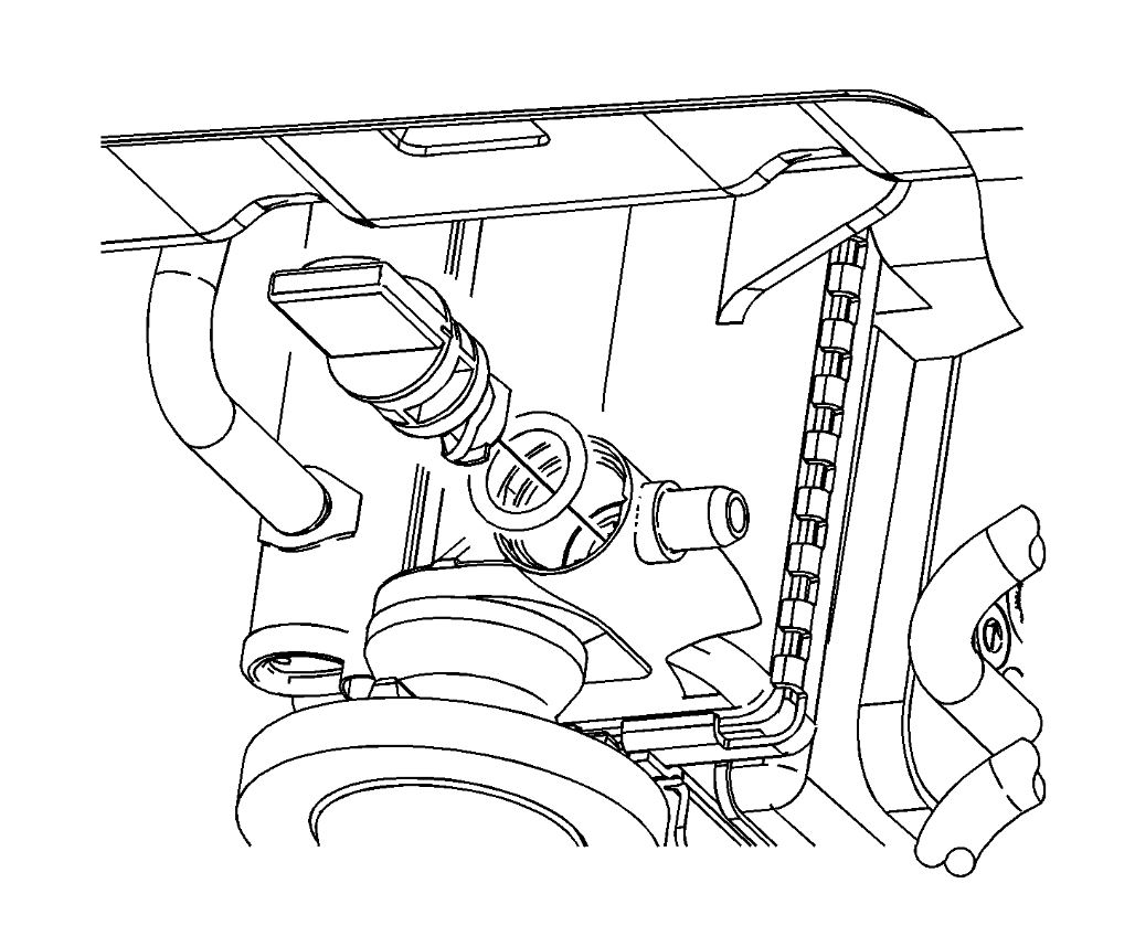 Where Is the Drain for the Engine Coolant Located at on