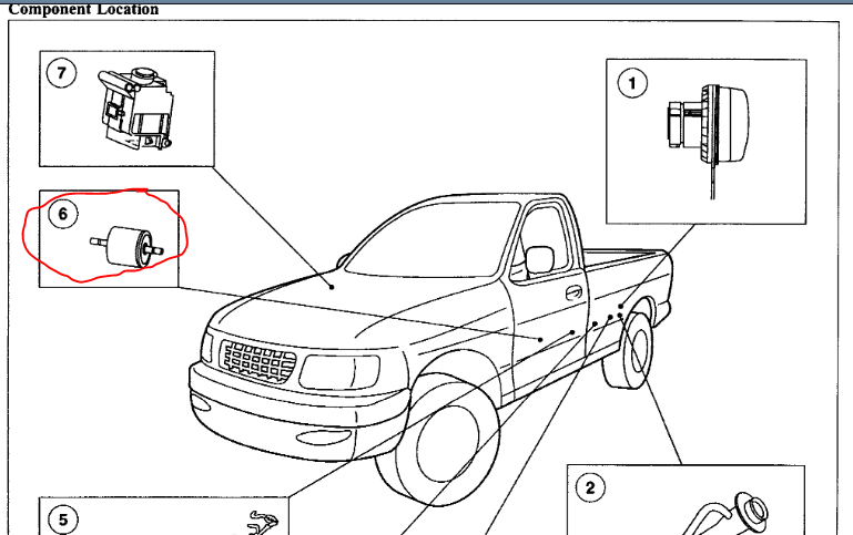 Fuel Filter Location?: I Cannot Find the Fuel Filter to