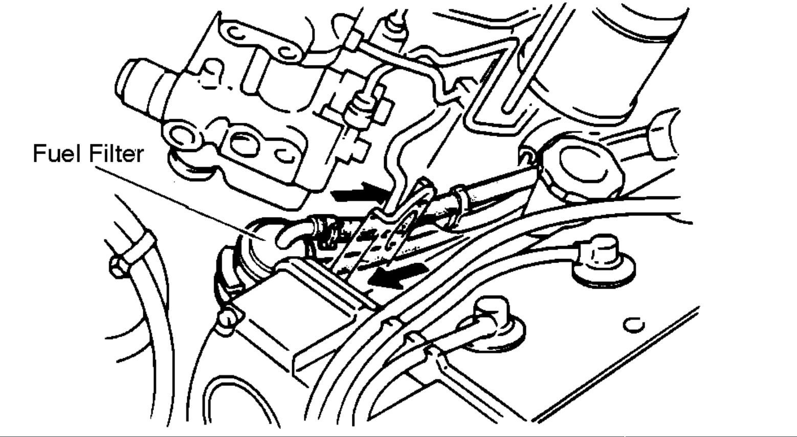 Fuel Filter Location: Looking for Fuel Filter Location.