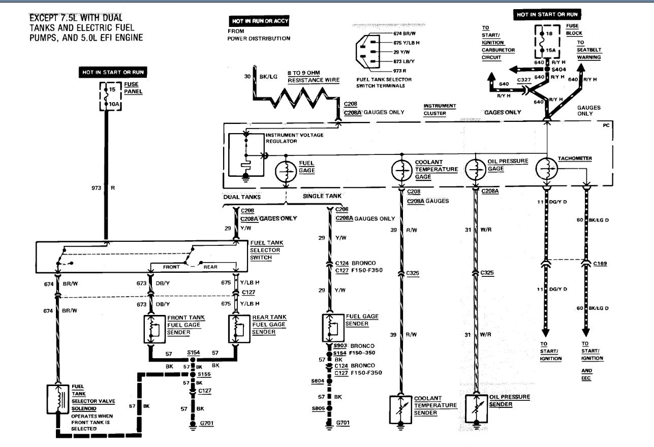 Fuel Tank Wiring: I Need a Wiring Diagram for My Truck