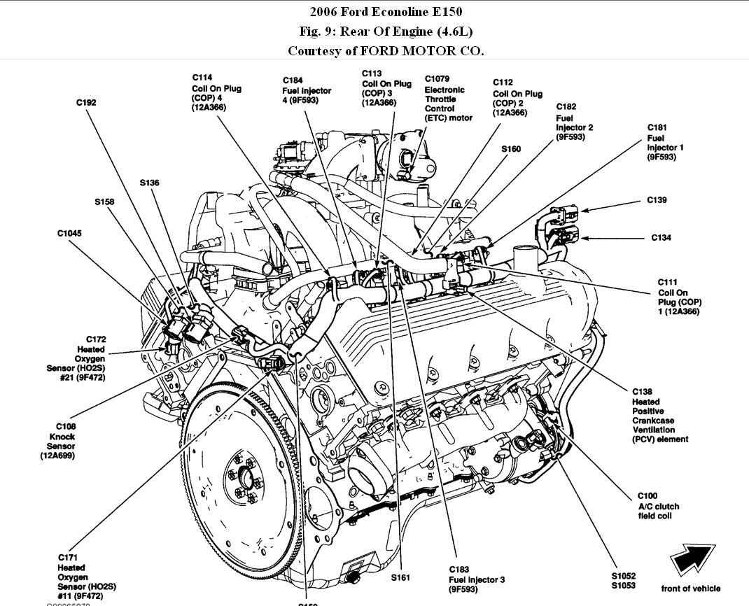 ford econoline engine diagram