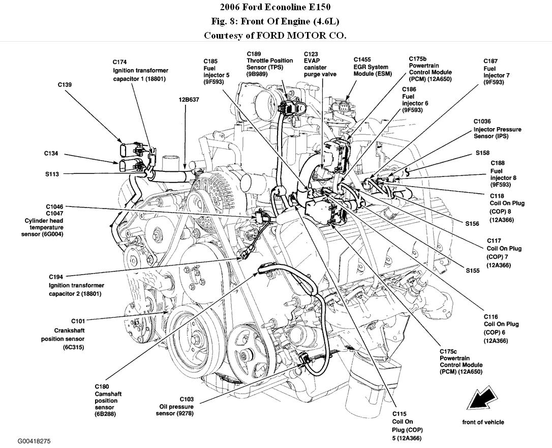 Ford Econoline Vacuum Diagram