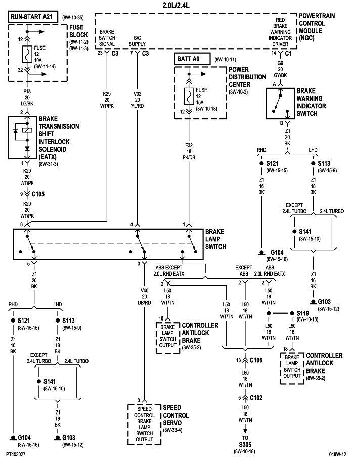 Fuel Pump/ASD Fuse Keeps Blowing: the Fuel Pump/ASD Fuse