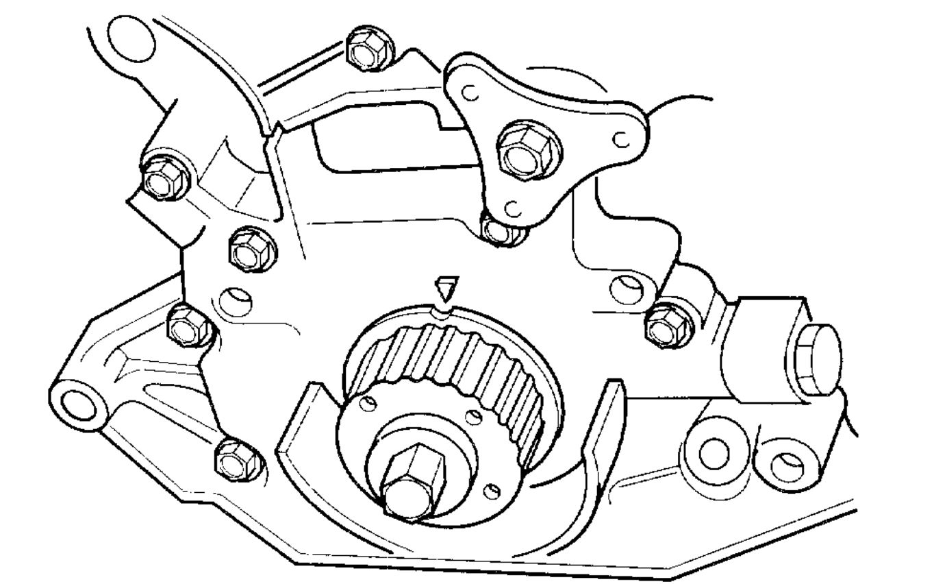 Timing Belt Marks: There Are Three Timing Marks, Which Do