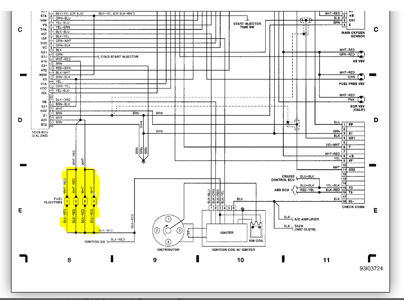 Wiring for Injectors Diagram: I Forgot How to Re Connect