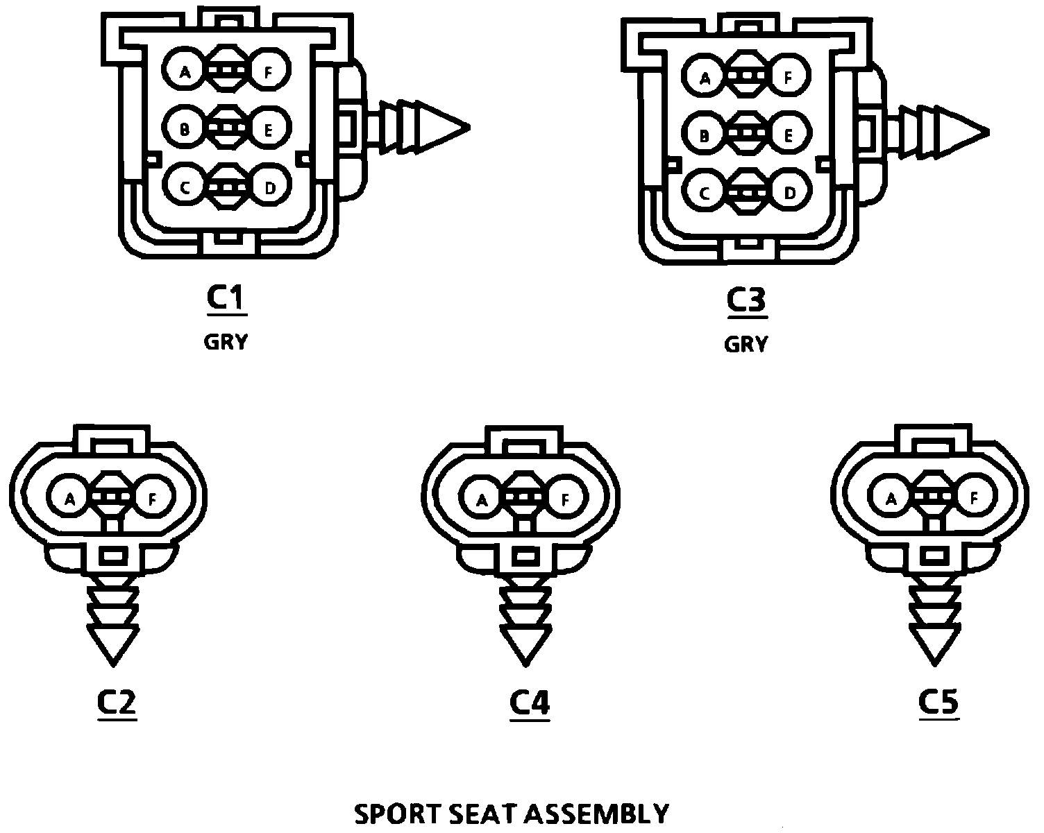 Seat Wiring Diagram I Am Working On The Car Listed Above