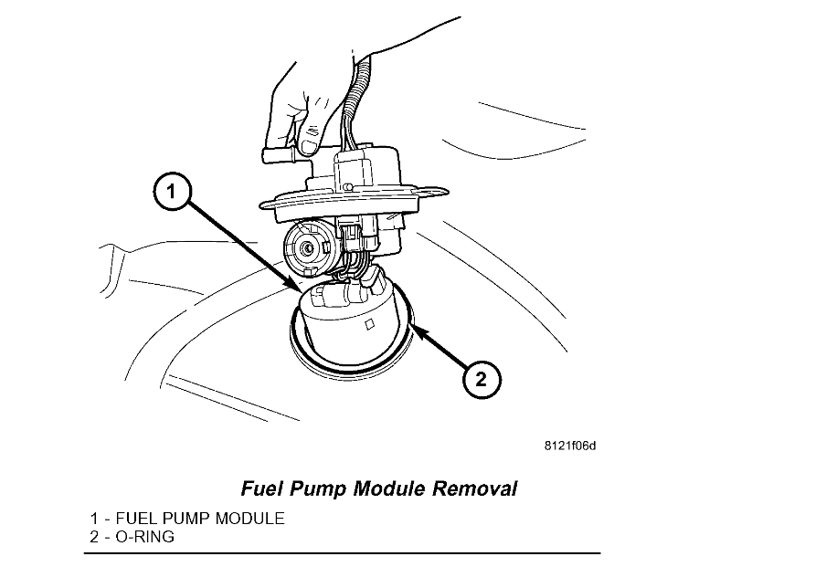 Fuel Filter?: Where Is the Fuel Filter on My 2006 Dodge