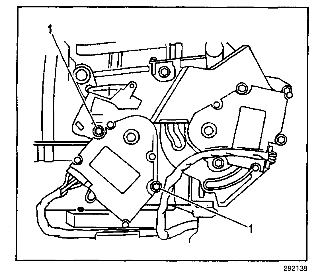 Mode Door Actuator Driver Side Replacement What Has To Be
