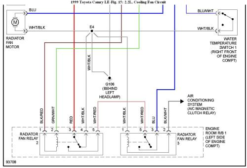 small resolution of  rad fan wiring diagram toyota camry on