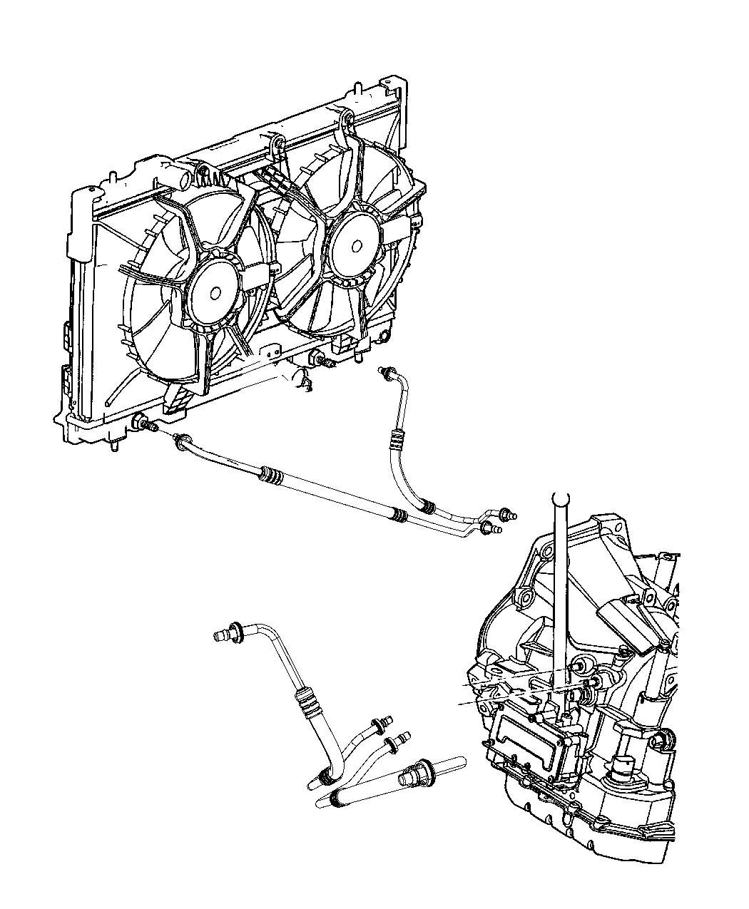 Diagram For Dodge Neon Radiator