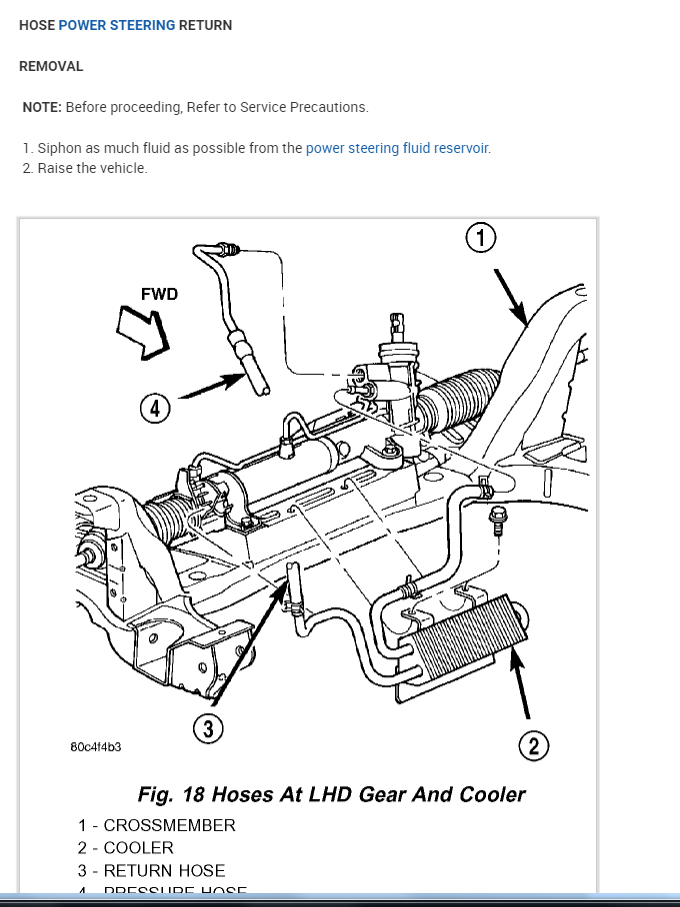 Power Steering Fluid Return Line: Where Is the Power