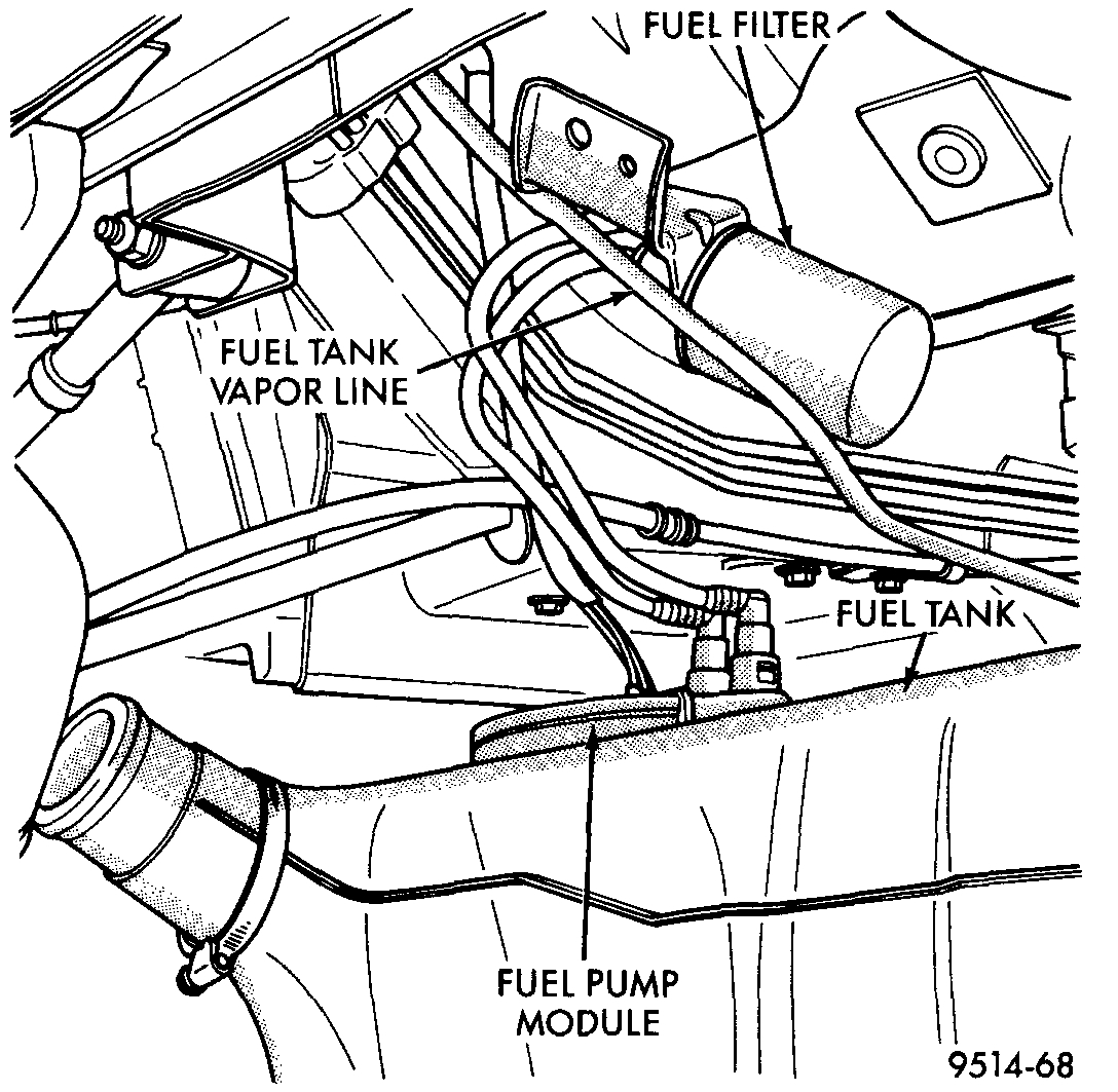Fuel Pump: Can I Get to the Fuel Pump Cutting Through the