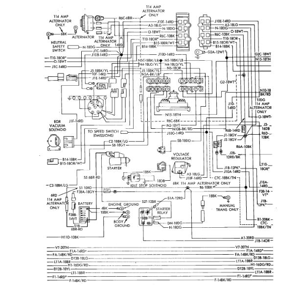Neutral Safety Switch Wiring Diagram: I Have the Vehicle