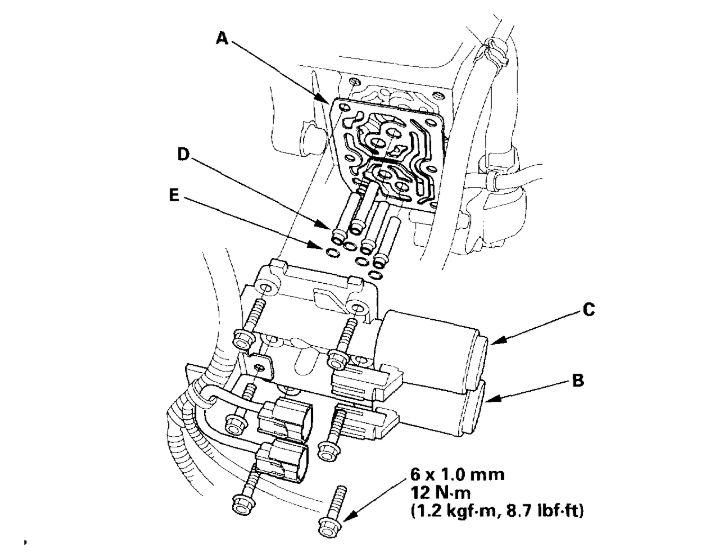 Automatic Transmission Control Module Wiring Diagram