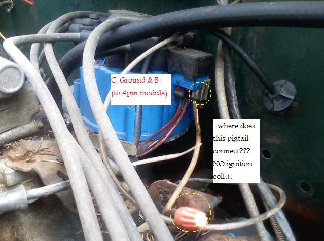 chevy ignition coil wiring diagram fluorescent ballast how to wire 350 gm delco remy hei 4pin?