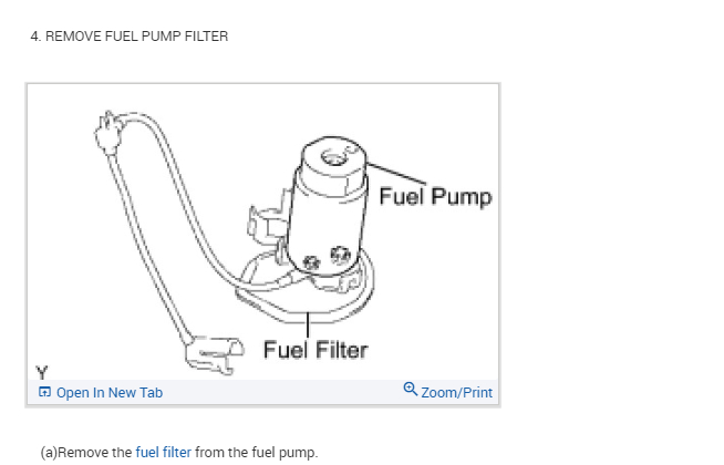 Fuel Pump Filter Location: Where Exactly Is the Fuel