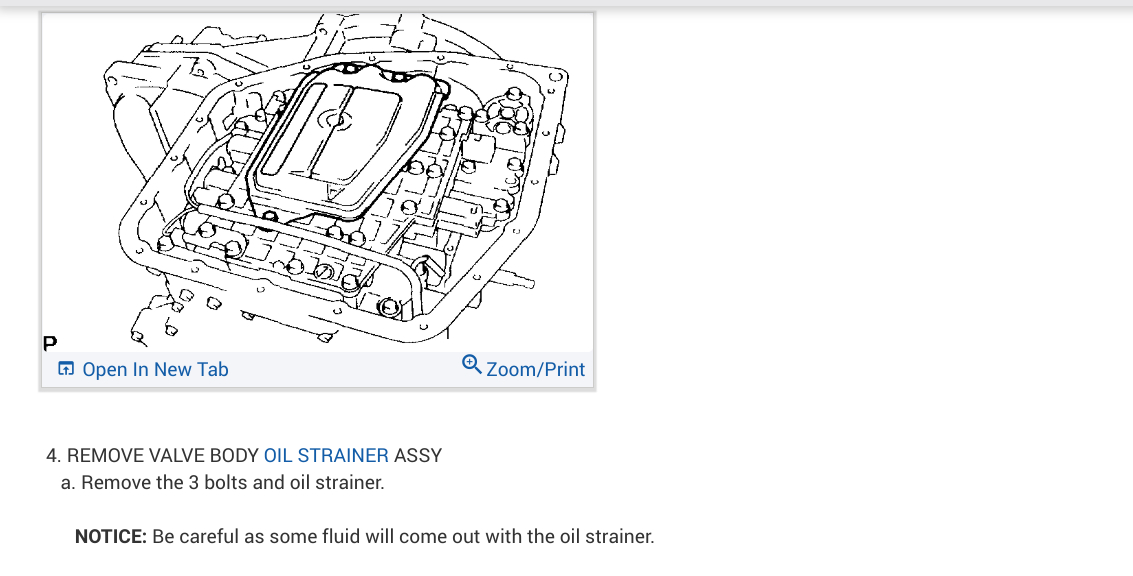 Automatic Transmission Fluid Change: the ATF Is Dark