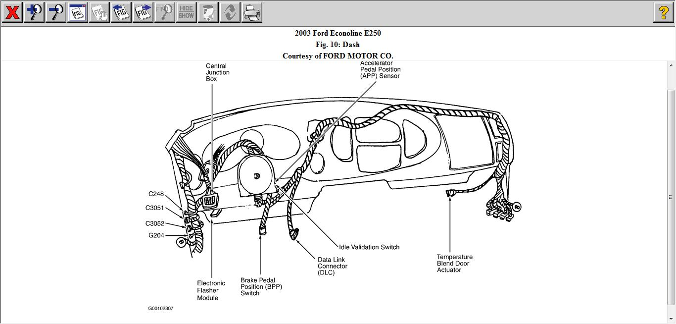 2003 Ford E250 Wiring Diagram