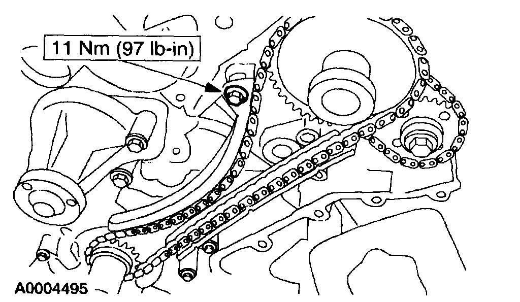Timing Chain Markings: the Timing Chain Broke and I Need