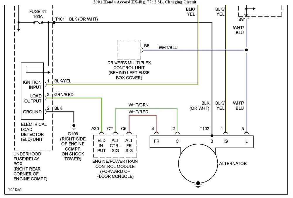 medium resolution of 94 honda accord alternator fuse find wiring diagram u2022