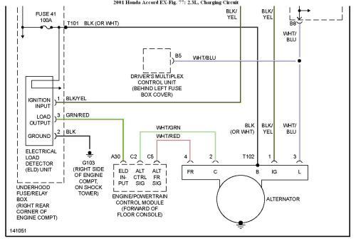 small resolution of 94 honda accord alternator fuse find wiring diagram u2022