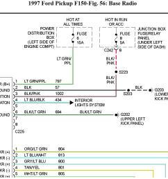 1999 ford f 150 stereo wiring wiring diagram used ford factory radio wiring diagram 1999 [ 1286 x 867 Pixel ]