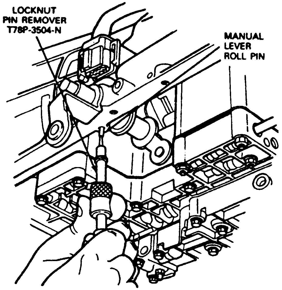Transmission Swap Gear Selector Lever Not the Same Size