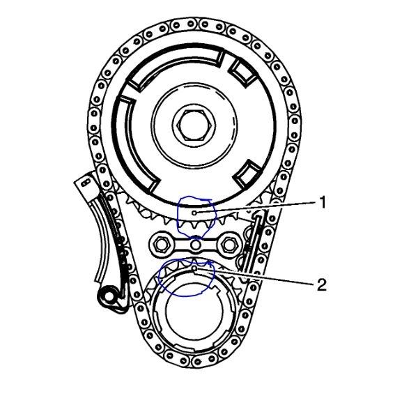 Timing Chain Marks Needed: Can You Please Tell Me the
