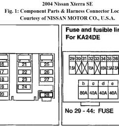 2001 nissan frontier fuse box diagram wiring diagram site [ 1508 x 679 Pixel ]