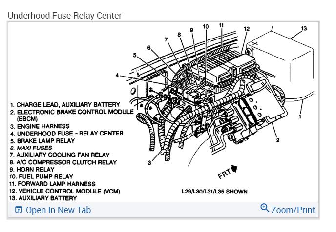 Fuel Pump Relay?: Noticed That Fuel Pump Relay Gets Hot