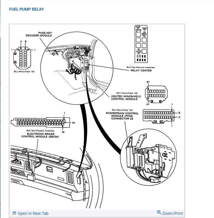 Fuel Pump Relay Problems?: After Checking Fuel Pump and
