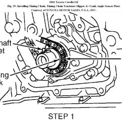 2000 Toyota Corolla Engine Diagram Kenworth Wiring W900 2001 Timing Chain How To Replace A