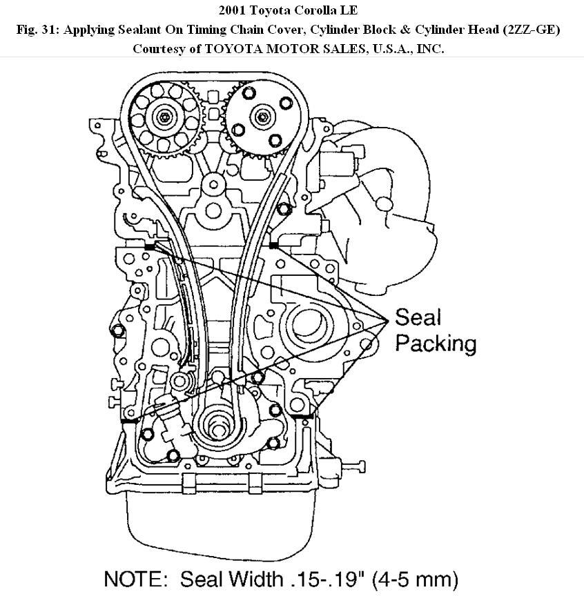 2011 toyota corolla engine diagram