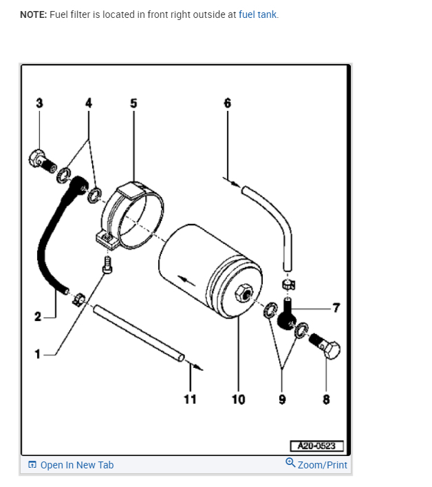 Fuel Filter Location: I Need to Know Where the Fuel Filter