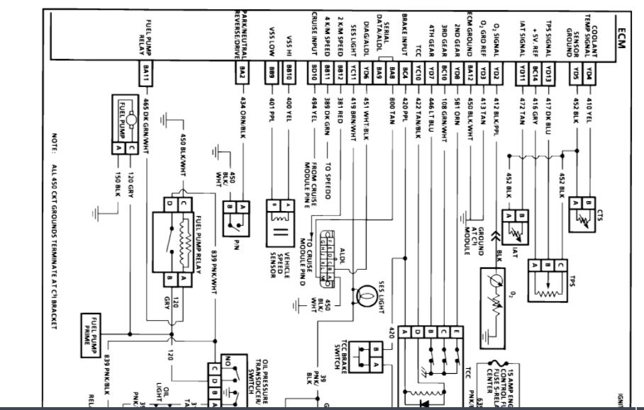 ECM Wiring Diagram: I'm Looking for a Wiring Diagram of