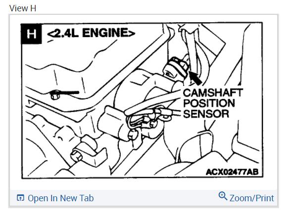 Camshaft Position Sensor?: When Completely Stopped in