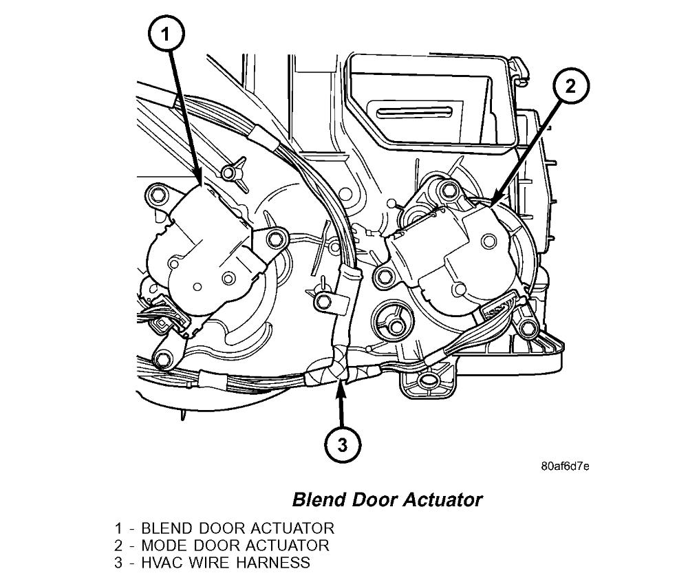 Blend Door Actuator?: Heat Only Blows Out Passenger Side