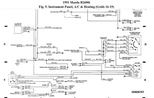 small resolution of 1993 mazda b2600i wiring diagram