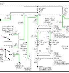 wiring diagram for 2000 gmc yukon wiring librarygmc sierra reverse light problem hello i have a [ 1128 x 782 Pixel ]