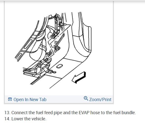 Fuel System Line Routing Diagram: I Would Like to Get a