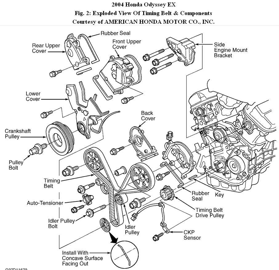 2009 acura tl engine diagram