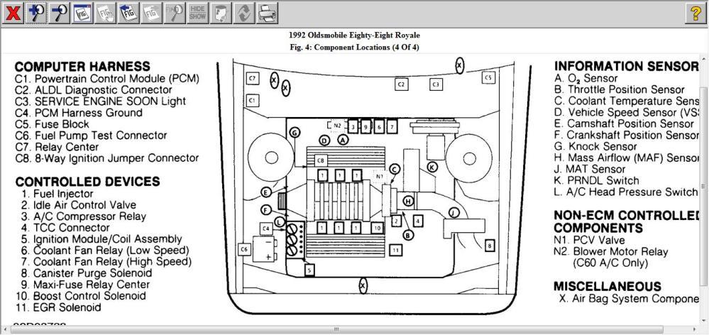 medium resolution of 1996 oldsmobile cutl ciera fuse box diagram 1996 pontiac 1996 oldsmobile 88 fuse box location 1996